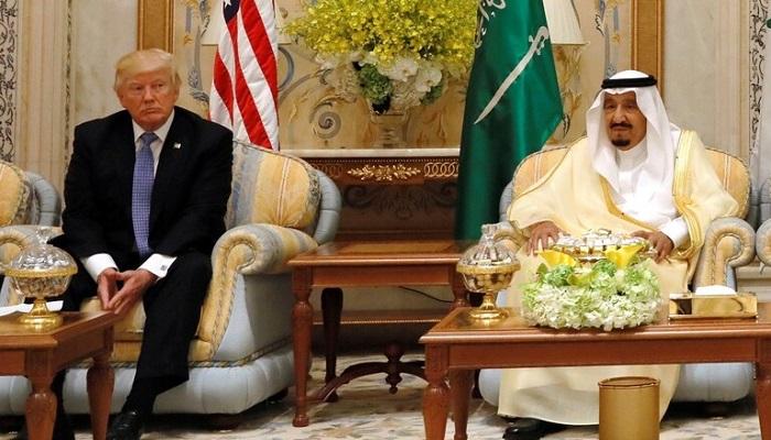 الملك سلمان لترامب: نقدر الجهود الأمريكية وندعم المبادرة العربية للسلام