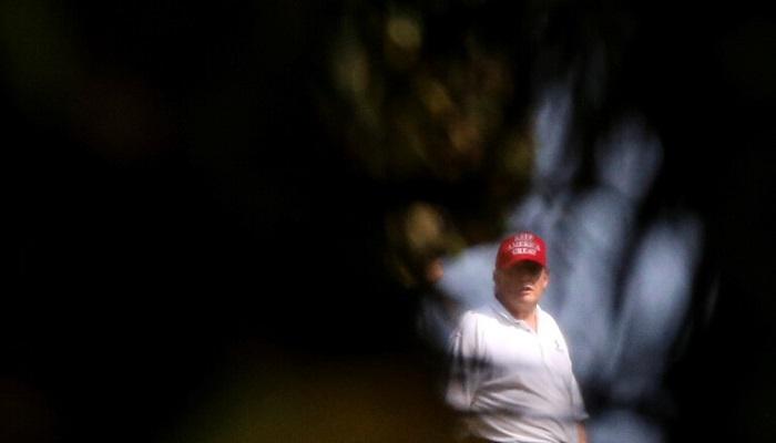 ترامب يتغيب عن مشاهدة جلسة محاكمته للعب الغولف