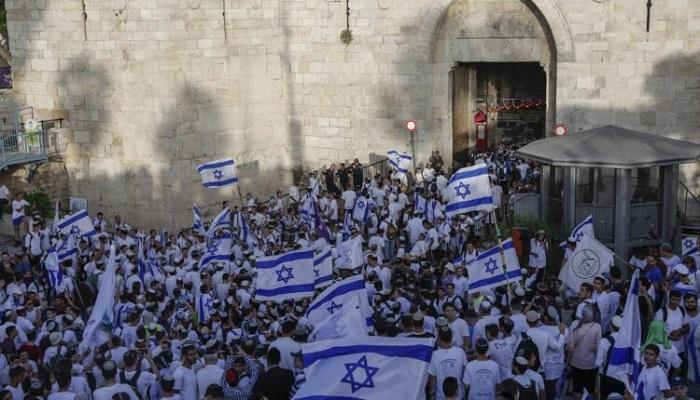 بعد قصف المقاومة.. الاحتلال يوقف مسيرة الأعلام الإسرائيلية في القدس