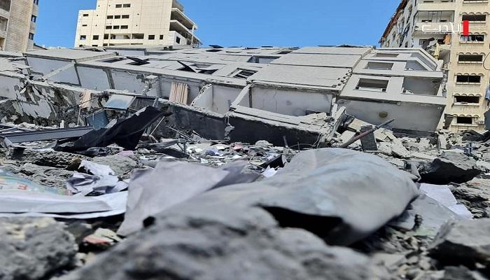 العدوان على غزة: الاحتلال يشن 122 غارة