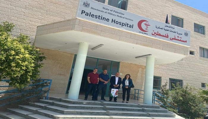 القاهرة عمان يتبرع لمشفى فلسطين العسكري لاستقبال مصابي كورونا