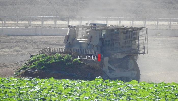 توغل محدود لجرافات الاحتلال جنوب قطاع غزة
