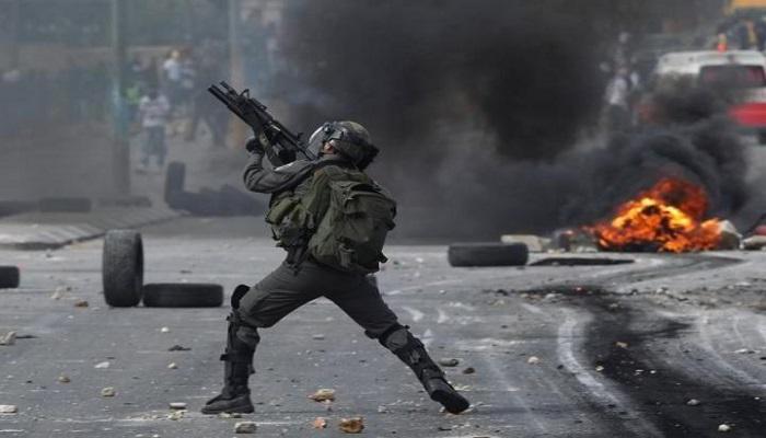 إصابات بالاختناق خلال مواجهات مع الاحتلال في يعبد