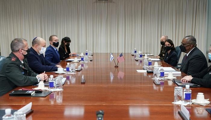 وزير الدفاع الأمريكي: سنضمن لإسرائيل القدرات لتحمي نفسها من إيران