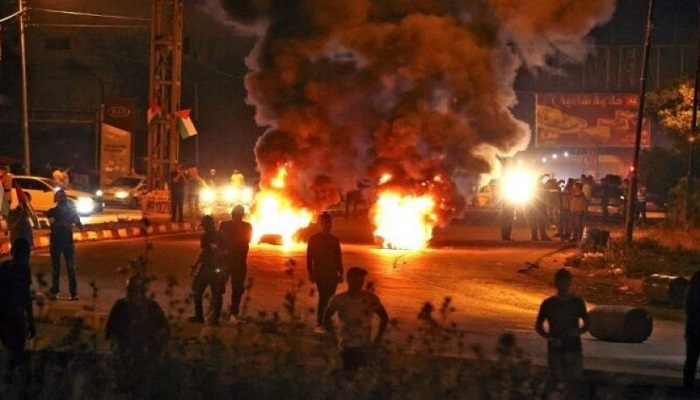 إصابة عدد من المواطنين بالاختناق في مواجهات مع الاحتلال ببلدة يعبد
