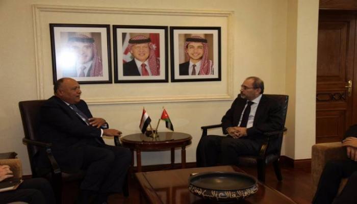 مصر والأردن: مستمرون بالعمل حتى إقامة الدولة الفلسطينية المستقلة