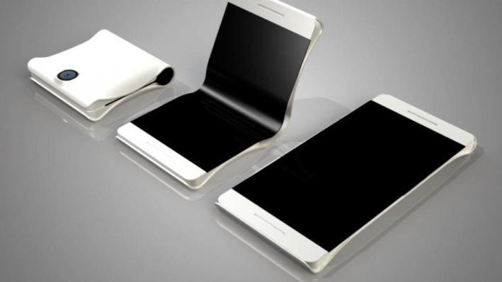 هاتف سامسونغ الجديد:قابل للطي!