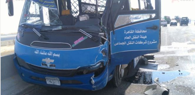 مصر: 70 قتيلاً وجريحاً في تصادم حافلتين